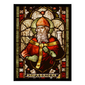 Stained Patrick II Poster