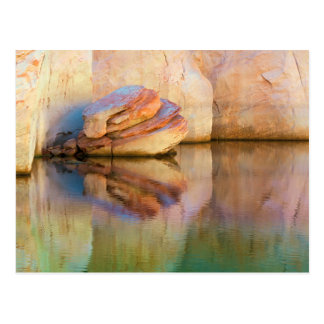 Stained Sandstone Wall   Glen Canyon, UT Postcard