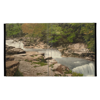 Stainforth Falls Yorkshire England iPad Folio Cases