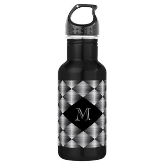 Stainless 18 oz. Black 532 Ml Water Bottle