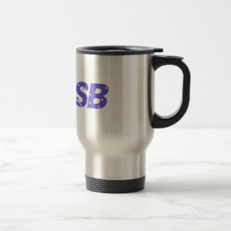 Stainless Steel 15 oz Travel/Commuter Mug