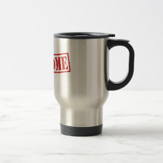 Stainless Steel 15 oz Travel/Commuter Mug Awesome