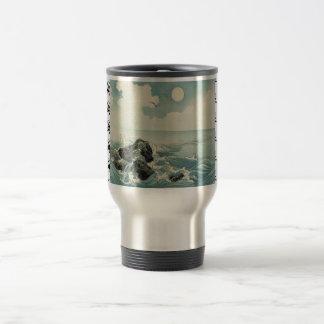 Stainless Steel 15 oz Travel/Commuter Mug:DRAGON Travel Mug