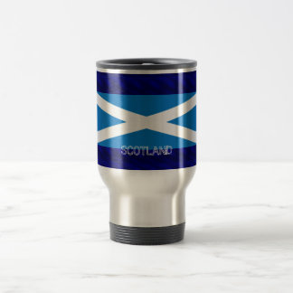 Stainless Steel 15 oz Travel/Commuter Mug saltire