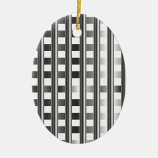 stainless steel background ceramic oval decoration