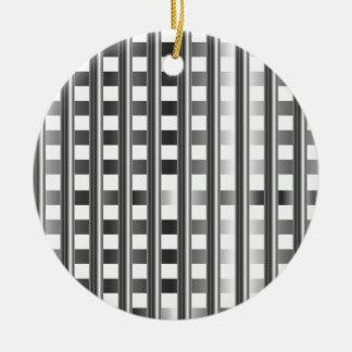 stainless steel background round ceramic decoration