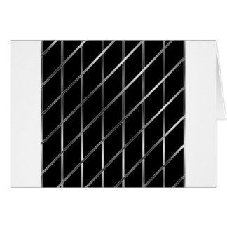 stainless steel background greeting card
