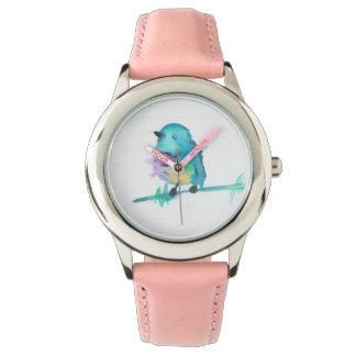 Stainless Steel Bird Watch
