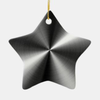 Stainless Steel Ceramic Star Decoration