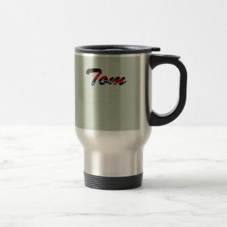 Stainless Steel Commuter Mug for Tom