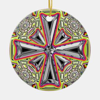 Stainless Steel Cross Ornament