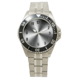 Stainless Steel-Divers Watch