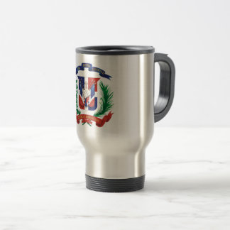 Stainless Steel Dominican Republic Travel Mug