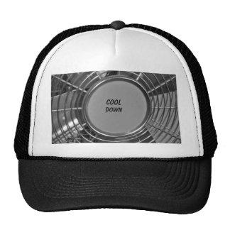 Stainless Steel Fan Cap Trucker Hat
