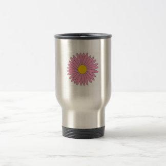 stainless steel flower travel mug