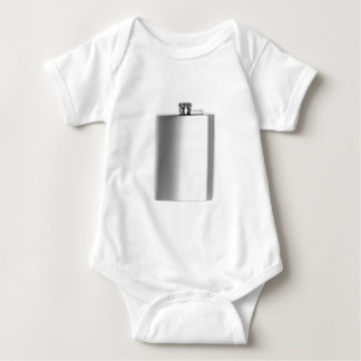 Stainless steel hip flask baby bodysuit