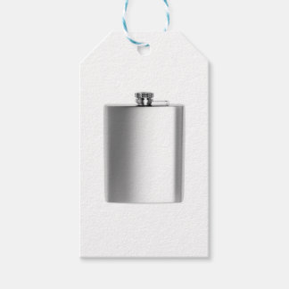Stainless steel hip flask gift tags