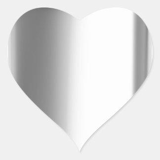 Stainless steel hip flask heart sticker