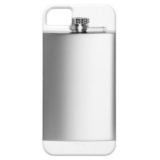 Stainless steel hip flask iPhone 5 case