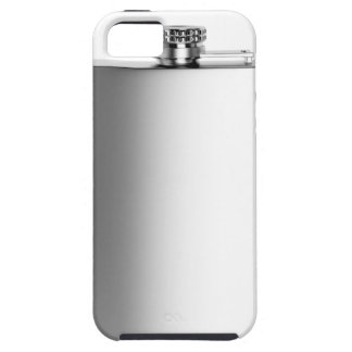 Stainless steel hip flask iPhone 5 cover