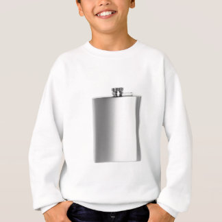 Stainless steel hip flask sweatshirt