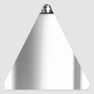 Stainless steel hip flask triangle sticker