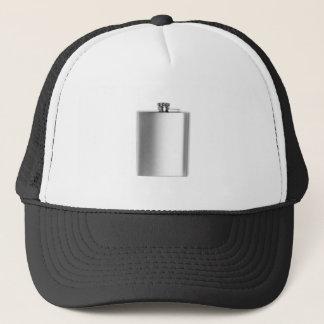 Stainless steel hip flask trucker hat