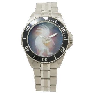 Stainless Steel Kokopelli Watch