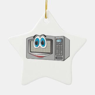 Stainless Steel Male Microwave Cartoon Ceramic Star Decoration
