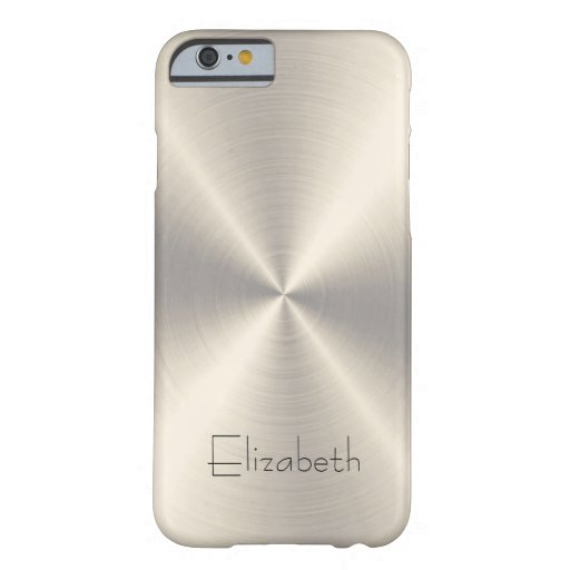 Stainless Steel Metal iPhone 6 Case