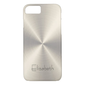 Stainless Steel Metal iPhone 7 Case