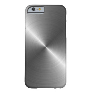 Stainless Steel Metal Look iPhone 6 case Barely There iPhone 6 Case