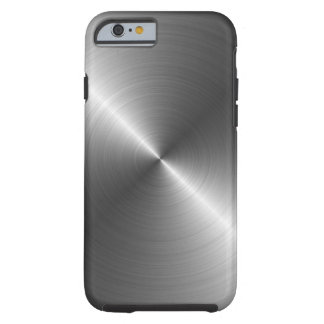 Stainless Steel Metal Look iPhone 6 case Tough iPhone 6 Case