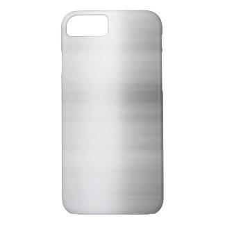 Stainless Steel Metal Look iPhone 8/7 Case