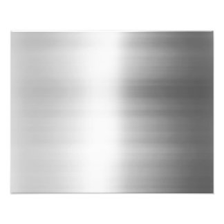 Stainless Steel Metal Look Photograph