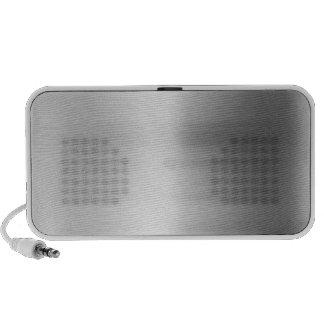 Stainless Steel Metal Look Travel Speaker