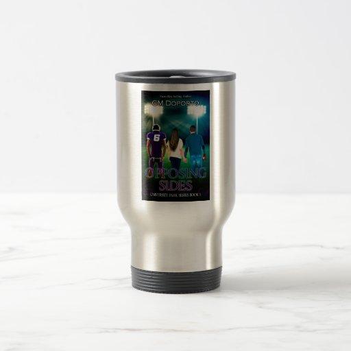 Stainless Steel Mug -  Opposing Sides