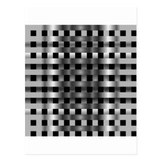 Stainless steel postcard