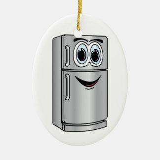 Stainless Steel Refrigerator Cartoon Ceramic Oval Decoration