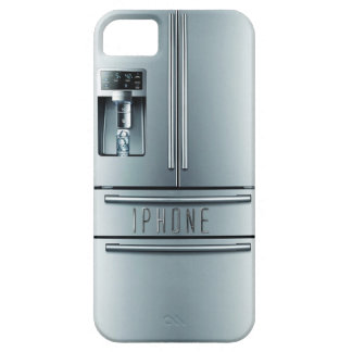 stainless steel refrigerator iphone case