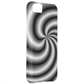 Stainless Steel Swirl iPhone 5C Cases