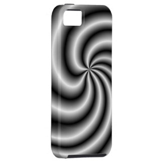 Stainless Steel Swirl iPhone 5 Case