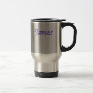 Stainless Steel Travel Mug for James
