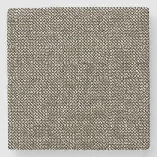 Stainless Steel Wire Mesh Pattern Stone Coaster