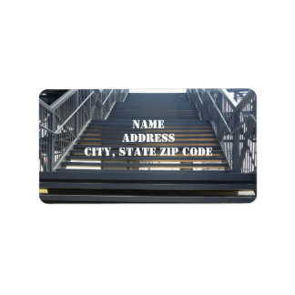 Staircase Address Labels