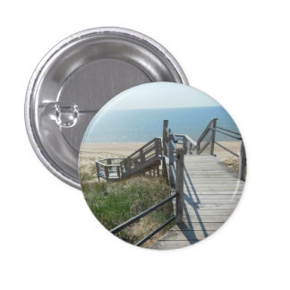 Staircase to Paradise 3 Cm Round Badge