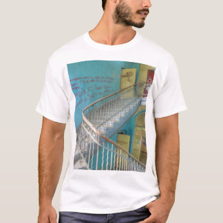 Stairs 01.0.2.2, Lost Places, Beelitz T-Shirt