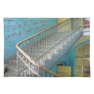 Stairs 01.0, Lost Places, Beelitz Placemat