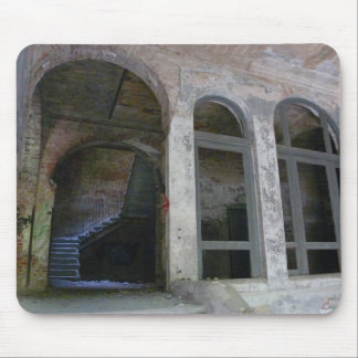 Stairs 01.0 ruin, Lost Places, Beelitz Mouse Pad