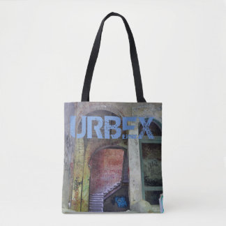 Stairs 02.0.2 ruin, URBEX, Beelitz Tote Bag